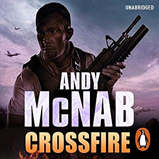 Crossfire     Nick Stone, Book 10              By:                                                                                                                                 Andy McNab                               Narrated by:                                                                                                                                 Paul Thornley                      Length: 10 hrs and 49 mins     221 ratings     Overall 4.8