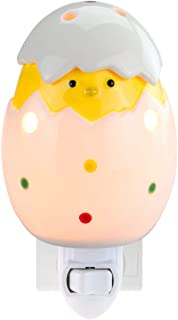 STAR MOON Pluggable Fragrance Warmer Wax Melter for Home/Dorm/Office No Flame No Smoke No Soot Packaged Together with Two Bulbs - Broken Egg Tweety Bird