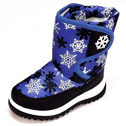 Magnus Kinder Schuhe Winterschuhe(134D) Winterstiefel Stiefel Jungen,Mädchen Schuhe Blau, Größe 27