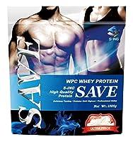 SAVE プロテイン ウルトラプライス ULTRA PRICE ホエイプレーン WPC ホエイプロテイン 人口甘味料・香料 無添加 (1kg)