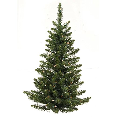3 ft. PVC Christmas Tree - Green - Camdon Fir - 97 Tips - Unlit - Vickerman A861135-Wall Tree