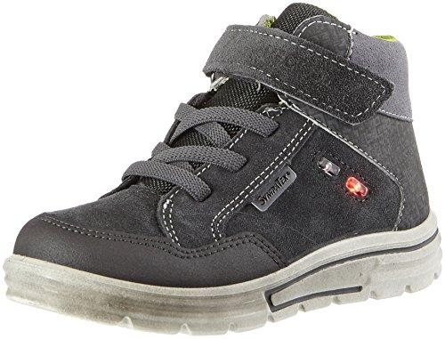 RICOSTA Jungen Benjamin Hohe Sneaker, Grigio/Antra, 00027 EU