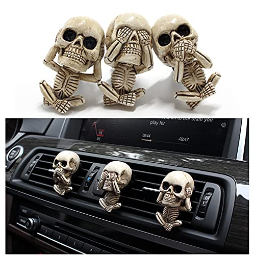 Cute Car Interior Accessories for Car Air Freshener Clips,Outlet Freshener Perfume Clip,Car Air Conditioner Vent Decorations,Office Home Aromatherapy Halloween Decor Gifts for Men/Women