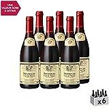 Santenay Clos de Malte Rouge 2015 - Louis Jadot - Vin AOC Rouge de Bourgogne - Cépage Pinot Noir - Lot de 6x75cl