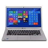 "Notebook Goldentec GT Silver Intel® Celeron™ 4GB 64GB SSD 14"" HD Windows 10"