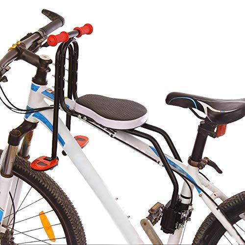 bicicletta zarma YXZN Mountain Bike Seggiolino per Bambini Anteriore Sgancio rapido Bicicletta Seggiolini per Bambini Sicuro Comodo Portamento capacità Fino a 50 kg