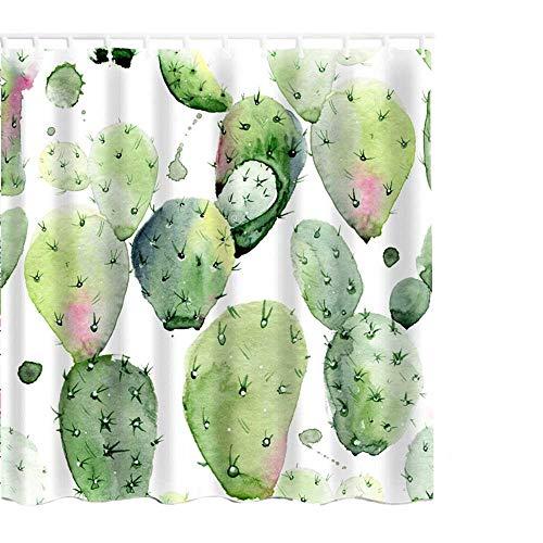 cortinas ducha plantas