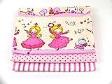 Stoffpaket Patchwork Baumwolle Prinzessin rosa-pink 3 x 50