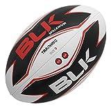 BLK - MILLENIUM TRAINING (SOLAR S.5) - Ballon de Rugby - Spécial Training - Cousu main - blanc/noir/rouge