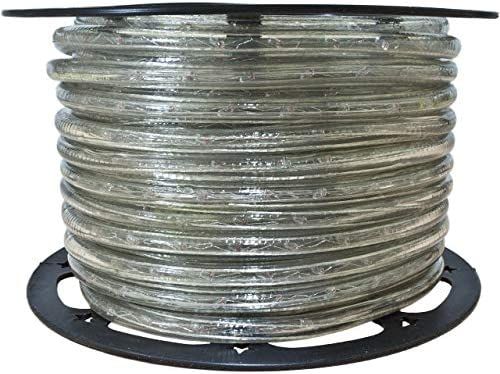 Brilliant Brand Lighting Clear Incandescent Rope Light 120 Volt 1 2 Inch 148 Feet product image