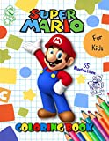 SUPER MARIO: Jumbo Coloring Book For Kids & Toddlers , For Boys & Girls