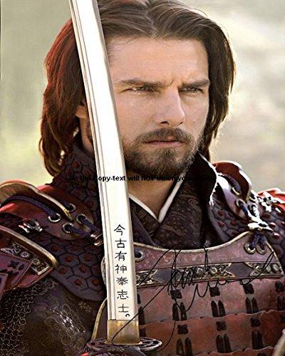 Tom Cruise Last Samurai Autographed Preprint Signed Photo 5
