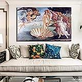 XSYYQYLL Classic berühmtes Gemälde Geburt Venus von