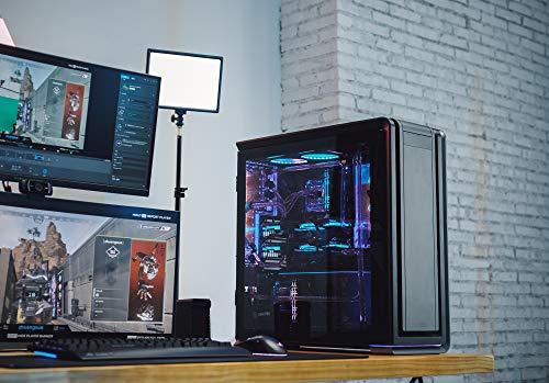 Phanteks Enthoo 719 (PH-ES719LTG_DAG01) High Performance Full Tower Case – Tempered Glass, Aluminum Panels, dual System/PSU Support, MASSIVE Storage, Fan Hub, Digital-RGB Lighting, Anthracite Grey
