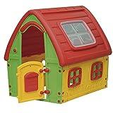 Outdoor Toys KSP50560 - Casita Infantil Hada 123,5x103,5x121,5 cm