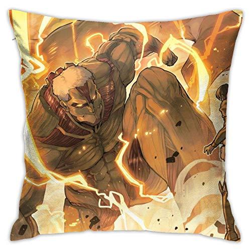 Lawenp Anime My Hero Academia Funda de Almohada Cuadrada Throw Pillow Funda de decoración 18 X 18 Pulgadas Decoración de Sala de Estar Sofá Dormitorio Sala de Estar Funda de Almohada de poliéster