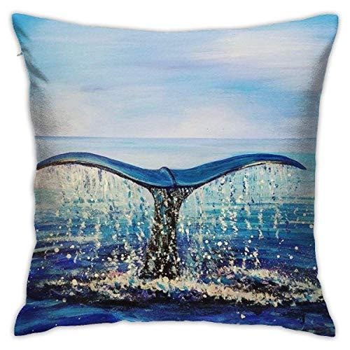 lucies Tropical Sand Beach Palm Tree3 Throw Pillow Case Soft Cushion Cover 18 X 18 Inch Decorative Pillowcases Modern Square Pillow Case Home Car Decoration
