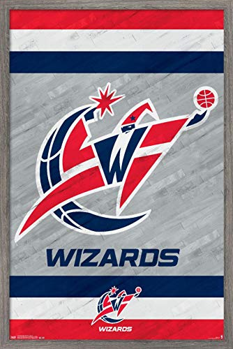 Trends International NBA Washington Wizards - Logo 14 Wall Poster, 22.375