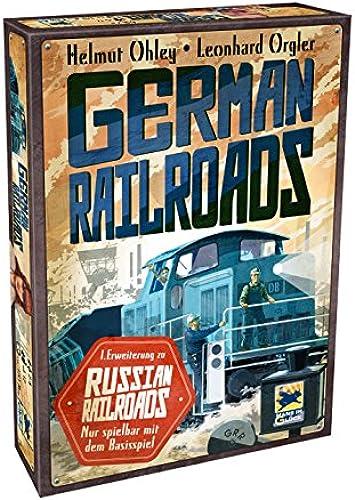 Hans im Glück Schmidt Spiele 48251 - German und  1. ErWeißerung Russian Railroads, Strategiespiel