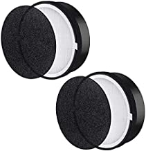 LV-H132 True HEPA Replacement Air Filter Compatible for LEVOIT LV-H132 Air Purifier, Activated Carbon Filters Set, Part# LV-H132-RF (2 Pack)