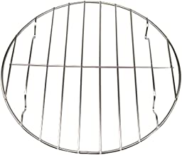 UPKOCH BBQ Grill Rack Non-Stick Barbecue Grids Metal Wire Baking Rack Cooking Rack For Fish Vegetables Steak Shrimp Meat Food 25cm