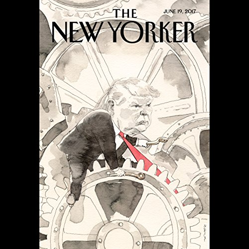 Couverture de The New Yorker, June 19th 2017 (Rachel Aviv, David Sedaris, Kelefa Sanneh)