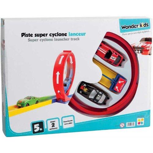 WDK PARTNER - A0701960 - Circuits de voiture - Piste looping avec 2 voitures