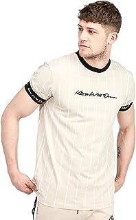 5d9f8c1ad781 Kings Will Dream | KWD Clifton Pinstripe Half Sleeve T-Shirt