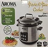 Aroma 6QT Digital Pasta & Rice Cooker