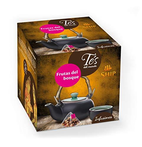 Ship C/15 Piramides Frutas del Bosque Tes del Mundo
