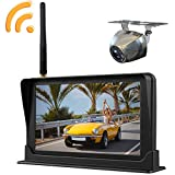 "Wireless Rear View Camera with 4.3"" LCD Screen HD Back up Camera Kit"