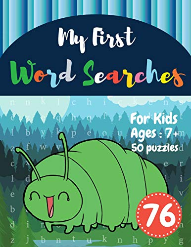 My First Word Searches: 50 Large Print Word Search Puzzles : wordsearch books for kids activity work