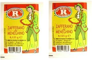 Rebecchi Zafferano Del Meneghino Italian Saffron Powder, 0.125 Gram 12 Pack by Rebecchi