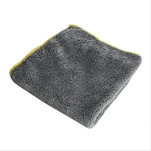 Pulizia della cucina In microfibra Asciugatrice per uso domestico Lavaggio auto Strumento per la pulizia può essere lavabile in lavatrice Facile da pulire 1 pz 37 * 37 cm
