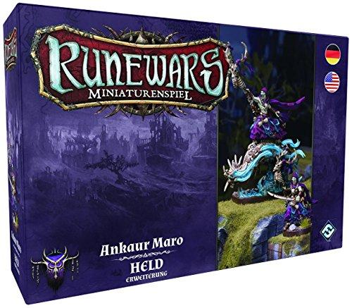 Fantasy Flight Games FFGD0129 Runewars Miniaturenspiel-Ankaur Maro Held Erweiterung