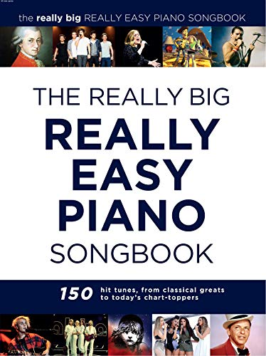 The Really Big Really Easy Piano Songbook: Klavierpartitur, Songbook für Klavier