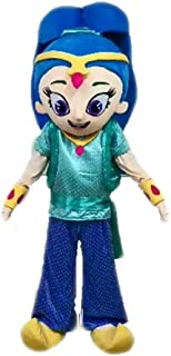Funny Adult Size Princess Costume Shimmer and Shine Mascot Costume for Birthday Party