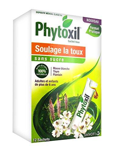 Sanofi Phytoxil Husten ohne Zucker, 12 Beutel