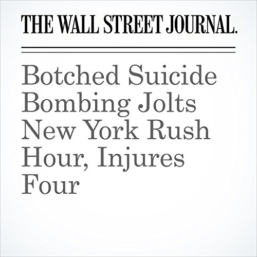 Botched Suicide Bombing Jolts New York Rush Hour, Injures Four copertina