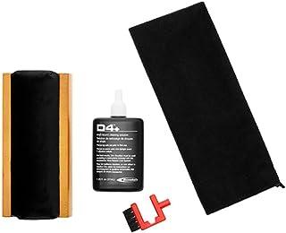 RCA  Pflege Set für Vinyl Schallplatten Reinigung (Plattenbürste, Nadelbürste, Reiniger, Microfasertuch)