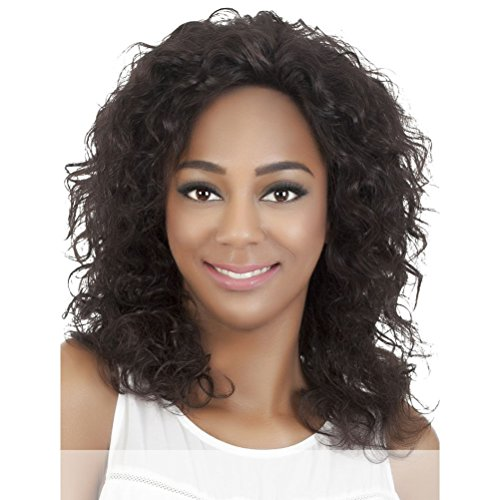 Vivica A Fox Hair Collection Marigold Remi Brazilian Full Lace Wig, Natural, 14.3 Ounce