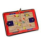 Katech Portable Coaching Basketball Tableau Ensemble de Basketball Coach Collective effa?Able Tableau magnétique Excellent Basketball équipement d'entra?Nement