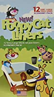 Poopy Cat Pan Liners, 12 Large Liners by Poopy Cat Liners
