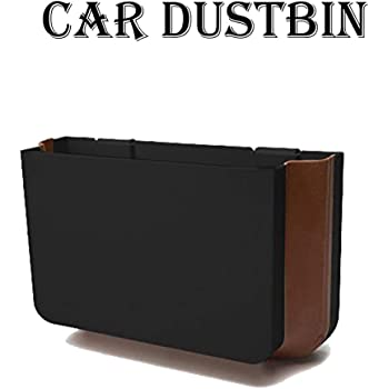 GTC Smart Universal Car Seat Organizer Portable Trash Bin Car Dustbin Storage Box Car Mini Dustbin Trash Storage Can Color May Vary (IT N - 629)