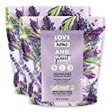 Love Home and Planet Dishwasher Detergent Packets Lavender &...