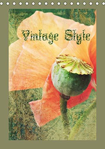 Vintage Style (Tischkalender 2021 DIN A5 hoch)