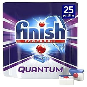 Finish Lavavajillas Quantum Mo – 25 Pastillas
