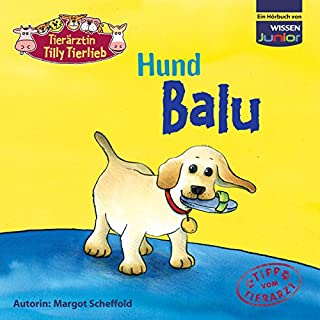 Hund Balu (Tierärztin Tilly Tierlieb) Titelbild