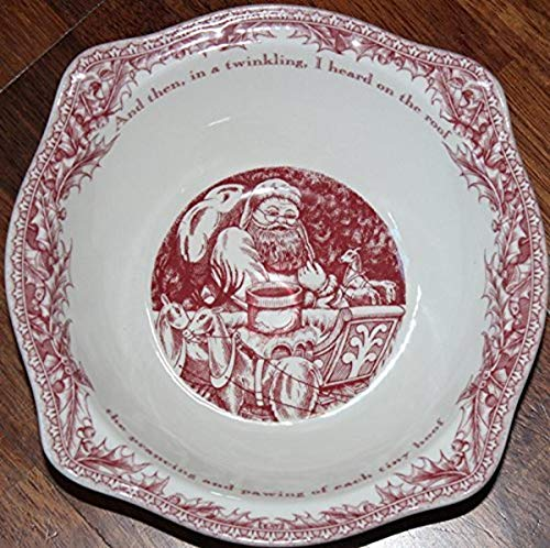 Johnson Brothers TWAS The Night Open 8.3' Fruit/Salad Bowl