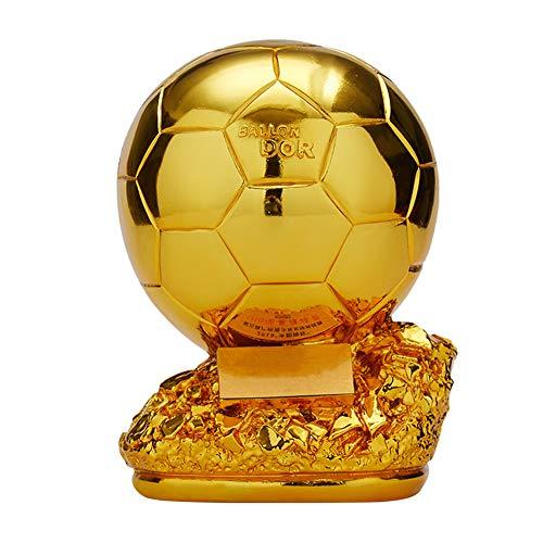 Aida Bz Fußball-Trophäe Weltmeisterschaft Fußball-Trophäe Gewinner Trophy Replica,Gold,H15cm
